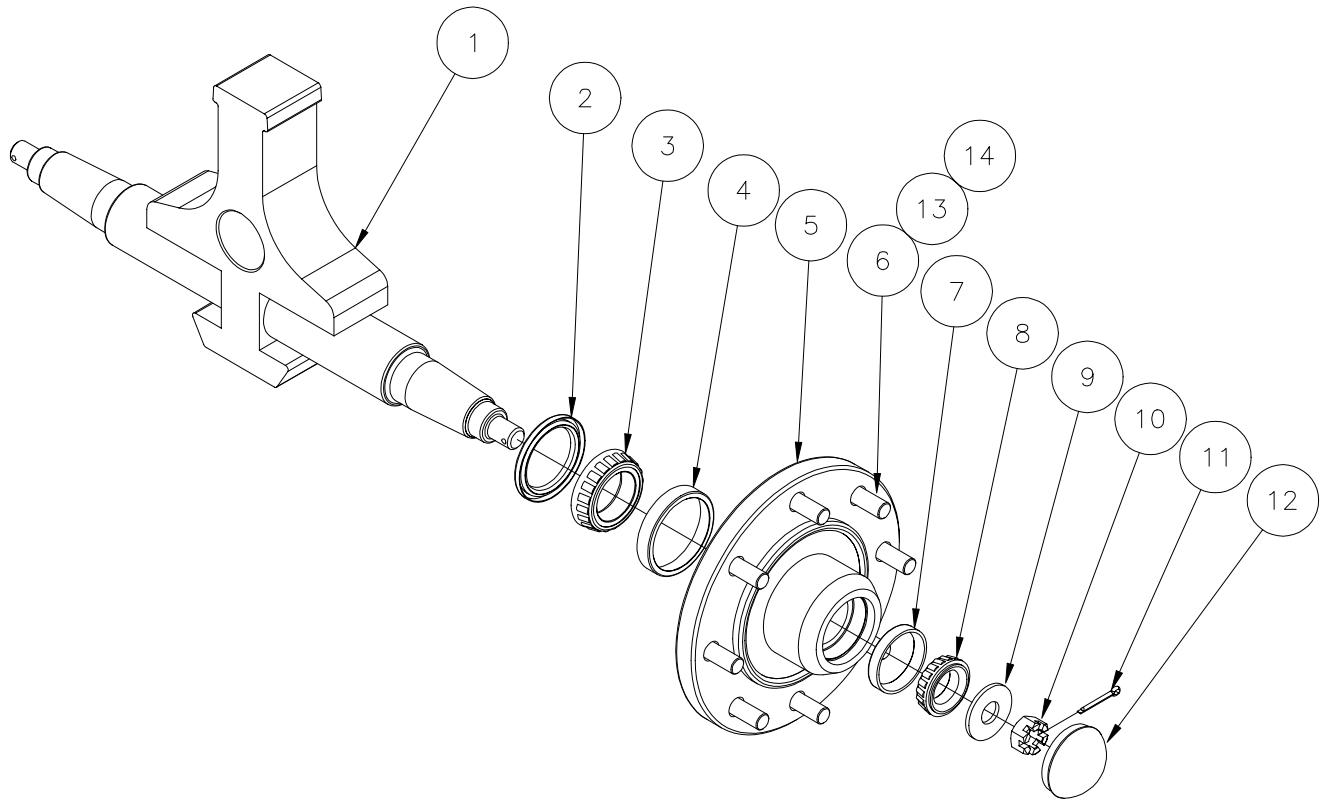 Wheel Hub Assy